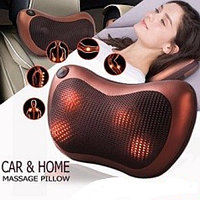 Массажная роликовая подушка Massager Pillow
