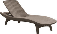 Шезлонг Keter Sun Lounger Pacific, коричневый