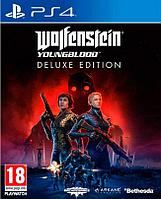 Wolfenstein YoungBlood Deluxe Edition (PS4, русская версия)