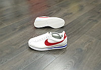 Кроссовки Nike Cortez White Red Blue
