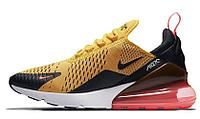 Nike Air Max 270 (Gold/Black), фото 1