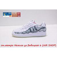 Nike Air Force 1 skeleton, фото 1