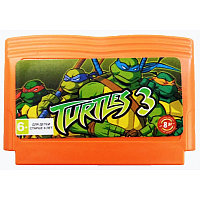 Картридж Dendy TURTLES 3