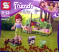 КонструкторБРИК( LEGO) Friends Норка ежика, фото 1