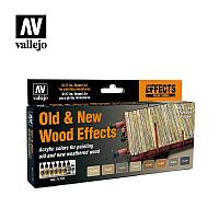 Набор VALLEJO Model Air OLD AND NEW WOOD EFFECTS (8), фото 1