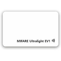 Белая RFID-карта Mifare Ultralight EV1 (4/7 byte UID)