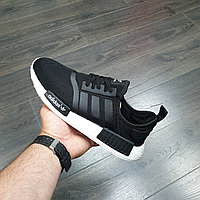 Кроссовки Adidas NMD R1 (Black White)