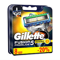 FUSION ProGLIDE POWER  Gillette Кассета (8шт) (ОРИГИНАЛ!!!).