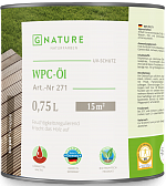 Масло для ДПК и бамбука GNature 271 WPC-Öl