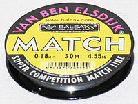 Леска Balsax MATCH 0.12mm (30м)