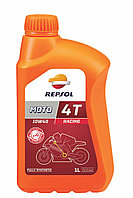 Масло моторное, 10W40 MOTO RACING  4T, 1 л. Repsol