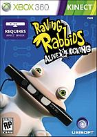 Kinect Raving Rabbids Alive Kicking (Xbox 360, 1 диск)