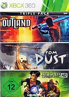 Triple Pack Outland, From Dust, Beyond HD (Xbox 360, 1 диск)
