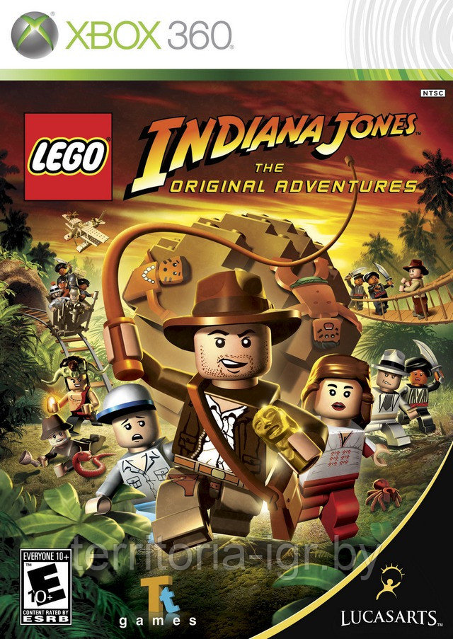 LEGO Indiana Jones: The Original Adventures Xbox 360